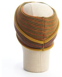 Grace Hats - Mustard Knit Twist Turban Headband - Lyst