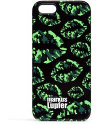 Markus Lupfer - Camouflage Smacker Lip Print Iphone 5/5s Case - Lyst