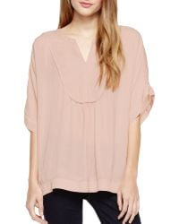 Two By Vince Camuto - Peasant Blouse - Lyst