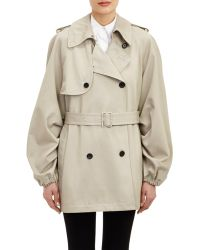 Rhié Double-Breasted Trench Coat - Lyst