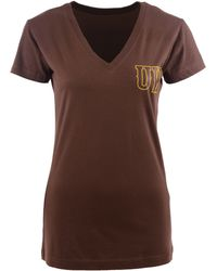 MYU Apparel - Women's Short-sleeve Wyoming Cowboys V-neck T-shirt - Lyst