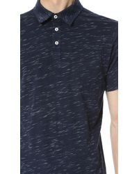Splendid Mills - Slub Novelty Polo - Lyst