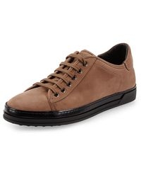 Tod's Suede Lowtop Sneaker - Lyst