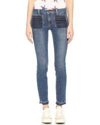 Genetic Denim Bardot Patch Pocket Skinny Jeans - Revolver - Lyst