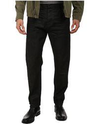 Calvin Klein Jeans Taper Jeans in Raw Dark D - Lyst