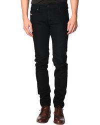 Diesel Sleenker Slim-Fit Skinny Black Jeans black - Lyst