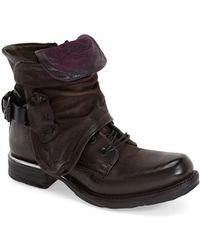 A.s.98 - Simon Leather Ankle Boots - Lyst