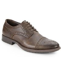 Vince Camuto Nicola Leather Oxfords - Lyst