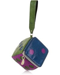 House of Holland Roll The Dice Clutch - Lyst