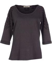 Maison Scotch Sweatshirt gray - Lyst