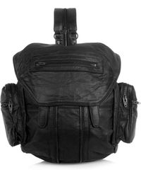 Alexander Wang Mini Marti Leather Backpack - Lyst