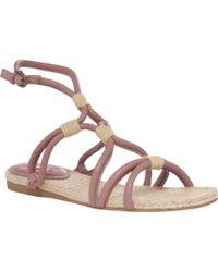 Leon Max - Java - Flat Grecian Sandals - Lyst