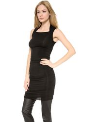Gareth Pugh Black Sleeveless Dress - Lyst