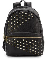Saks Fifth Avenue - Styler Studded Faux Leather Backpack - Lyst