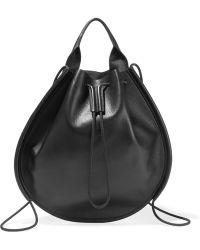 Jil Sander - Leather Backpack - Lyst