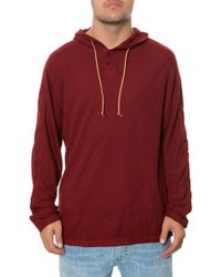 Volcom The Burnt Burnout Thermal Hoodie - Lyst