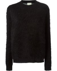 Forte Forte Contrasting See-through Back Sweater - Lyst