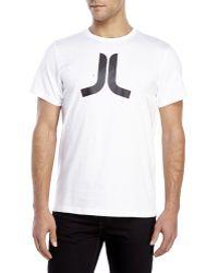 Wesc Icon T-Shirt white - Lyst