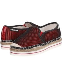 Love Moschino - Perforated Slip-on - Lyst