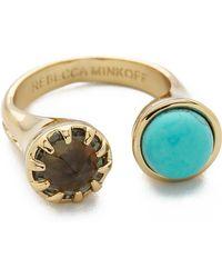 Rebecca Minkoff   Rebecca Minkoff - Gold/Turquoise   Lyst