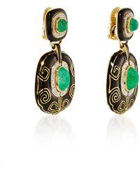 David Webb Couture Lantern Earrings Lyst