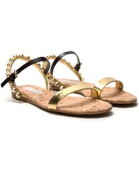 Stella McCartney Havisham Embellished Sandal - Lyst