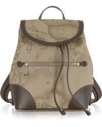 Alviero Martini 1A Classe - 1a Prima Classe - Geo Printed Neo Casual Backpack - Lyst