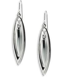 ABS By Allen Schwartz Orbital Drop Earrings