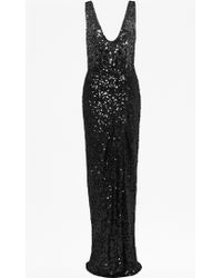 French Connection Cosmic Sparkle Maxi Dress - Lyst