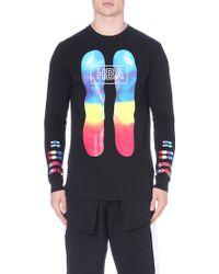 Hood By Air Colour Chromosomes T-shirt - Lyst