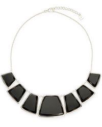 Karen Kane - Reversible Stone Collar Necklace - Lyst
