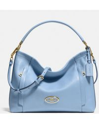 Coach Scout Hobo in Pebble Leather - Lyst