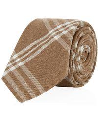 Hackett Mayfair Plaid Silk Tie - Lyst