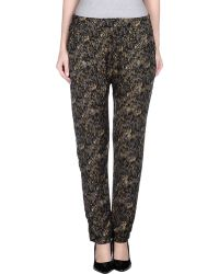 077 - Casual Trouser - Lyst