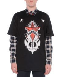 Givenchy Star & Shark Graphic Tee - Lyst