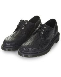 Topshop Dr Martens Core Tahan 3-eye Shoes - Lyst