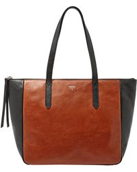 Fossil 'Sydney' Colorblock Shopper - Lyst