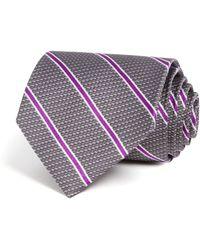 Brooks Brothers - Textured Tonal Stripe Classic Tie - Lyst