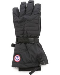 Canada Goose' down filled gloves