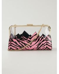 Moschino Cheap & Chic Contrasting Panel Shoulder Bag - Lyst