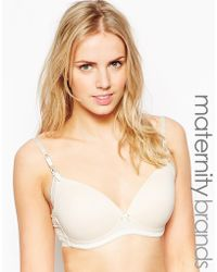 Elle Macpherson Light Of The Moon Maternity Bra - Lyst