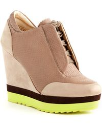 Boutique 9 Wykoff Wedge Sneakers - Lyst