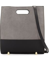 Alexander Wang Chastity Soft Suede Tote Bag - Lyst