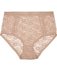 Lonely - Agnes Stretch-lace High-rise Briefs - Lyst