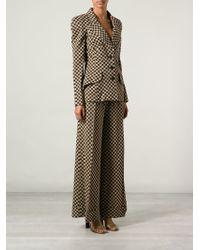 Biba Checkered Trouser Suit - Lyst