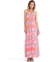MINKPINK Eastern Aztec Maxi Dress - Lyst