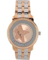 Thierry Mugler Wrist Watch gold - Lyst