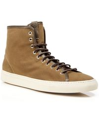 Buttero Cotton High Top Sneakers - Lyst
