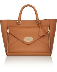 Mulberry Willow Leather Tote - Lyst