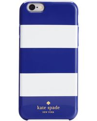 Kate Spade Fairmont Square Iphone 6 Resin Case - Lyst